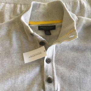 Brand New Banana Republic Cotton/Cashmere Sweater